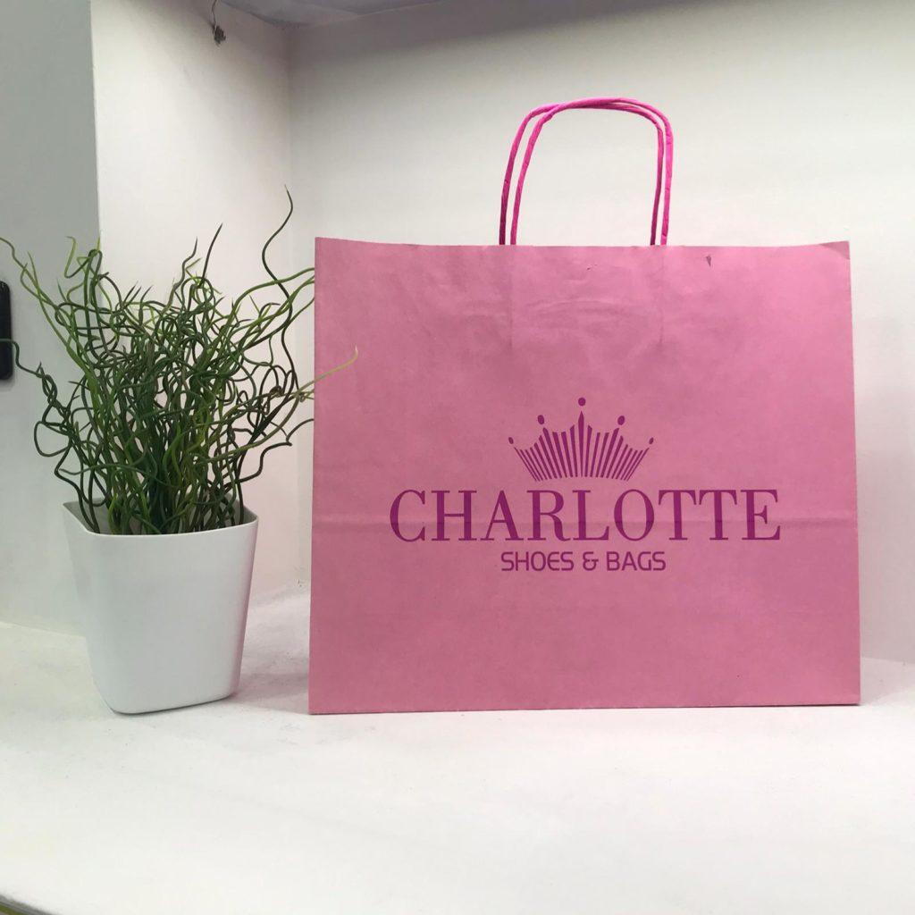 shopper in carta in carta per negozi, attività commerciali eventi e fast food
